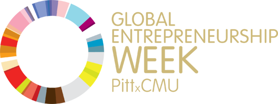 GE WEEK PittandCMU Logo - 1 Gold Lettering