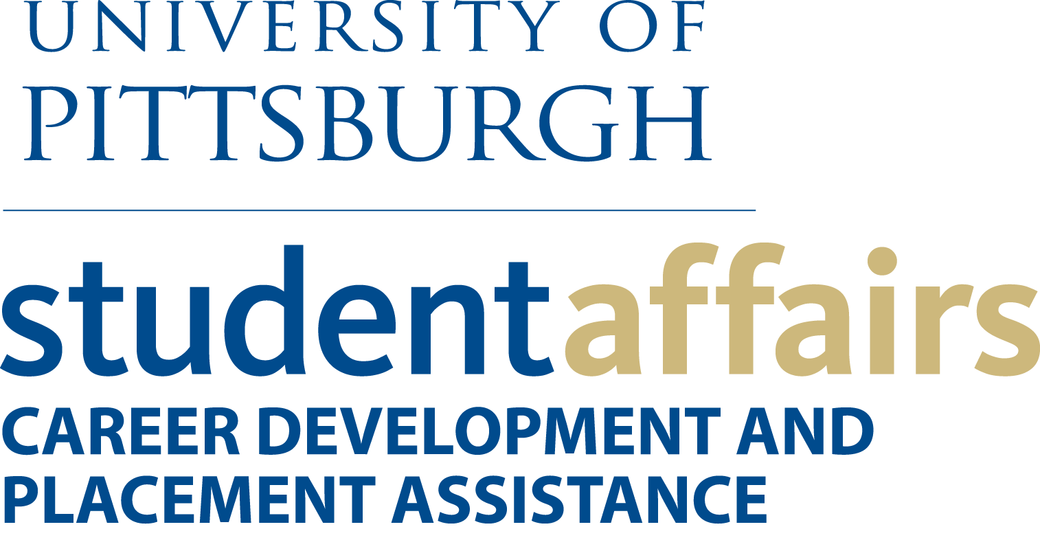 University of Pittsburgh Career Development Placement Assistance Logo.png
