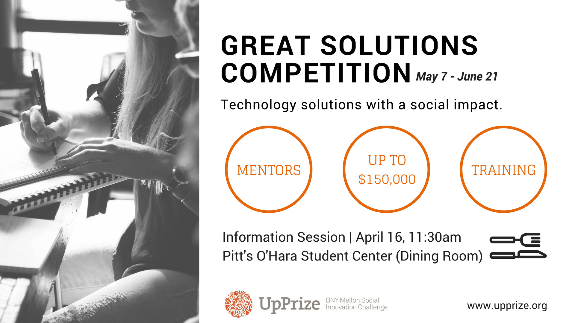UpPrize Great Solutions Competition_Pitt Info Session