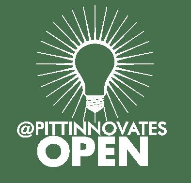 pitt innovates open_white logo